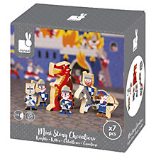 Buy Janod Mini Story Knights Play Set Online at johnlewis.com