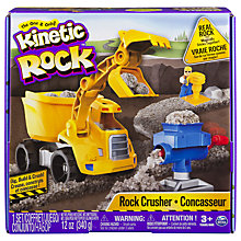 Buy Kinetic Sand Kinetic Rock Crusher Set Online at johnlewis.com