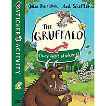 Buy The Gruffalo/The Gruffalo's Child Double Sticker Book Pack Online at johnlewis.com
