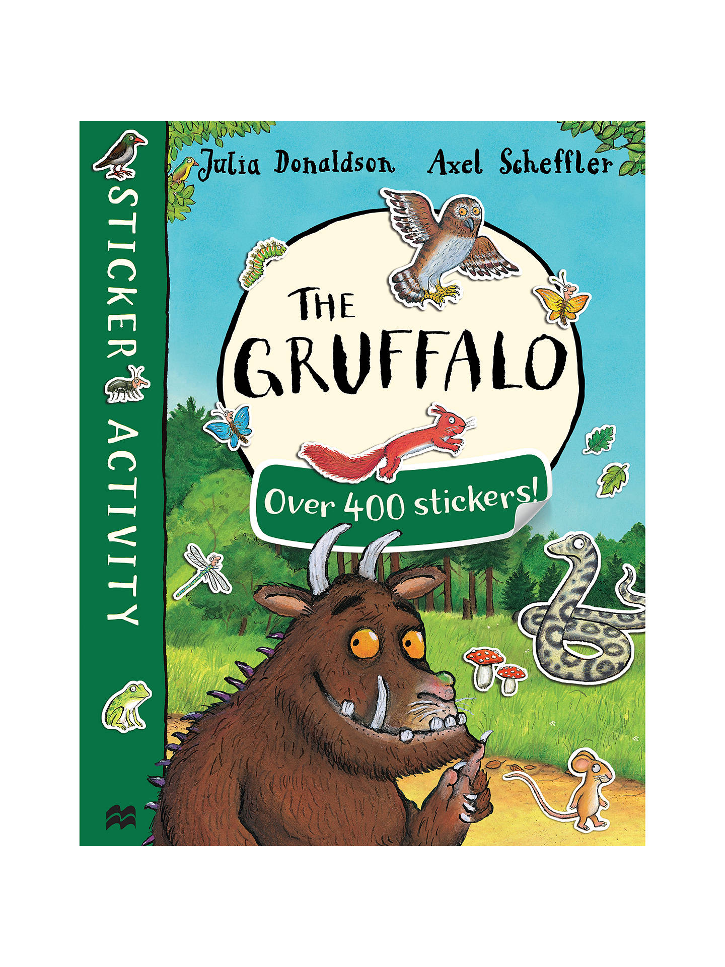 Buy The Gruffalo and The Gruffalo's Child Double Sticker Children's Book Pack Online at johnlewis.com