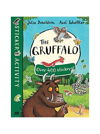 The Gruffalo and The Gruffalo's Child Double Sticker Children's Book Pack