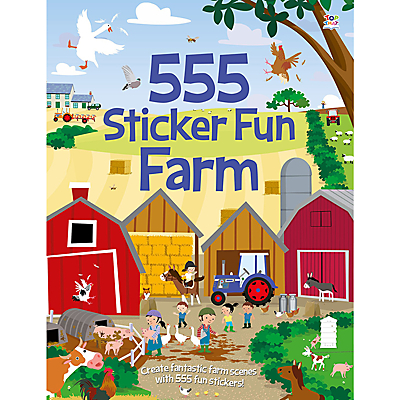Image of 555 Sticker Fun Farm