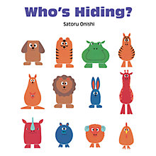 Buy Who's Hiding? Children's Book Online at johnlewis.com