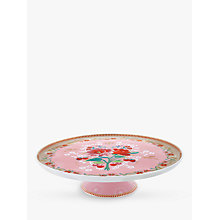 Buy PiP Studio Floral 2.0 Cake Stand, Rose Pink, Dia.30cm Online at johnlewis.com