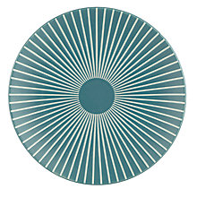 Buy John Lewis Puritan Radial Side Plate, Dia.21.2cm, Spruce Online at johnlewis.com