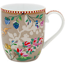 Buy PiP Studio Floral 2.0 Small Hummingbird Mug, 145ml Online at johnlewis.com
