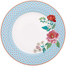 Buy PiP Studio Floral 2.0 Rose Plate, Dia.26.5cm Online at johnlewis.com