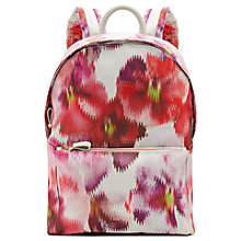 Buy Ted Baker Coela Expressive Pansy Backpack, Baby Pink Online at johnlewis.com