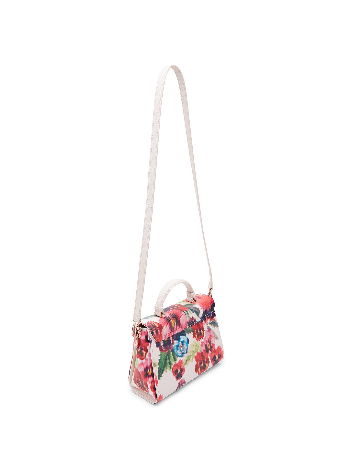 Ted Baker Nouvel Expressive Pansy Tote Bag Baby Pink At