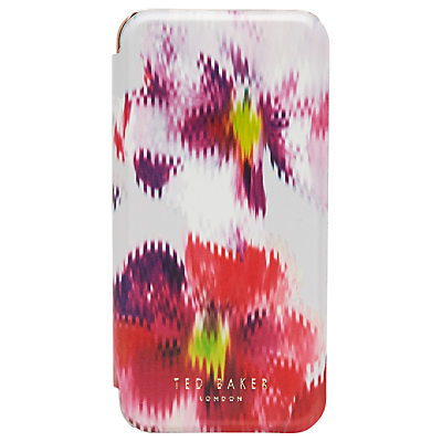 Ted Baker Hadi Expressive Pansy iPhone 6 Case, Light Grey