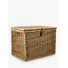 Buy John Lewis Croft Collection Woven Trunk, Natural Online at johnlewis.com