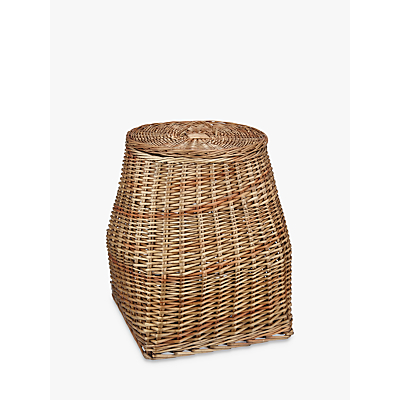 Croft Collection Lidded Willow Basket