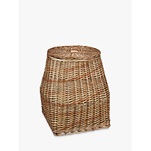 Buy Croft Collection Lidded Willow Basket Online at johnlewis.com