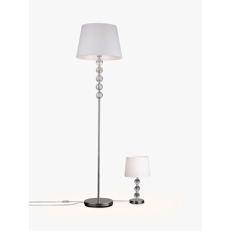 John Lewis Bella Table and Floor Lamp Duo at John Lewis