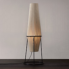 Buy John Lewis Truman String Floor Lamp. Natural / Black Online at johnlewis.com