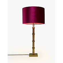 Buy John Lewis Jude Lamp Base, Antique Brass Online at johnlewis.com