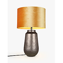 Buy John Lewis Rohan Hammered Lamp Base Online at johnlewis.com