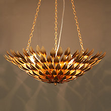 Buy DAR Winona Ceiling Uplighter Online at johnlewis.com
