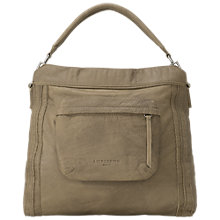 Buy Liebeskind Alva S7 Leather Grab Bag, Sage Green Online at johnlewis.com