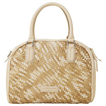 Buy Liebeskind Boston Leather Shoulder Bag, Beach Sand Online at johnlewis.com