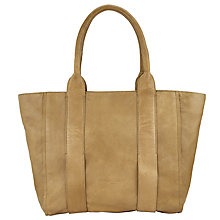 Buy Liebeskind Kindi Leather Shopper Bag, Sage Green Online at johnlewis.com