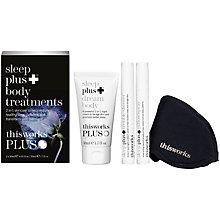 Buy This Works Sleep Plus Body Treatments Kit Online at johnlewis.com