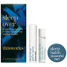 Buy This Works Sleep Over Kit Online at johnlewis.com