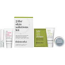 Buy This Works 24hr Skin Solutions Kit Online at johnlewis.com