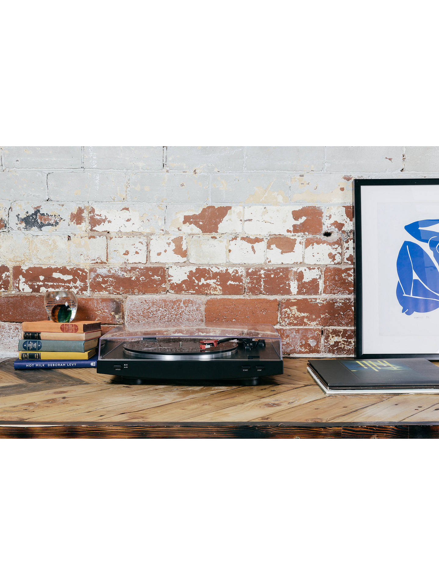 Buy Audio-Technica AT-LP3 Turntable, Black Online at johnlewis.com