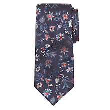 Buy Paul Smith Tonal Floral  Silk Tie Online at johnlewis.com