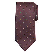 Buy Paul Smith Embroidered Star Motif Silk Tie Online at johnlewis.com