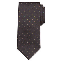 Buy Paul Smith Textured Dot Silk Tie, Black Online at johnlewis.com