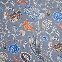 Buy John Lewis Kali Curtain, Blue Online at johnlewis.com