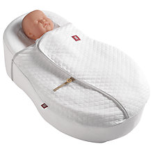 Buy Cocoonababy Nest Blanket, 2 Tog, White Online at johnlewis.com