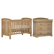Buy Boori Casa Cotbed and Dresser Set, Almond Online at johnlewis.com