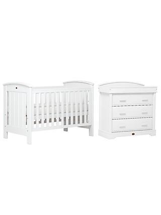Boori Casa Cotbed And Dresser Set White