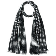 Buy Gerard Darel Faye Scarf, Black Online at johnlewis.com