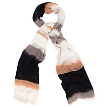Buy Phase Eight Cici Stripe Scarf, Multi Online at johnlewis.com