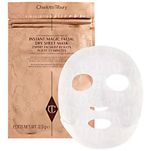 Buy Charlotte Tilbury Instant Magic Facial Dry Sheet Mask, x 1 Online at johnlewis.com
