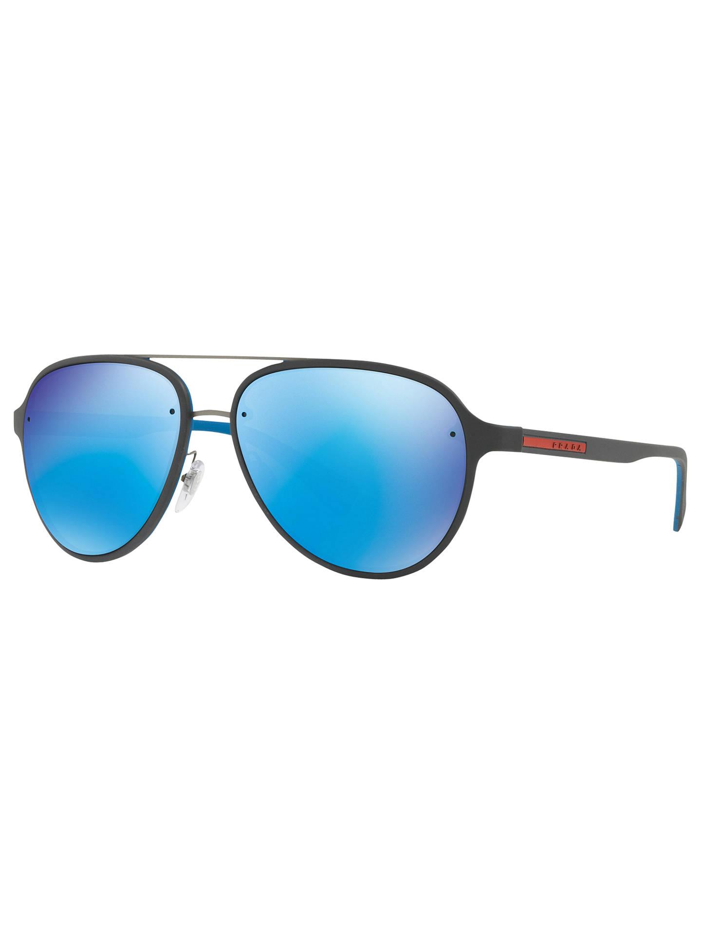76718288dad1a Prada Linea Rossa PS 52SS Aviator Sunglasses at John Lewis   Partners
