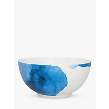 Buy Rick Stein Coves of Cornwall Porthilly Cove Cereal Bowl, Blue/White, Dia.16cm Online at johnlewis.com