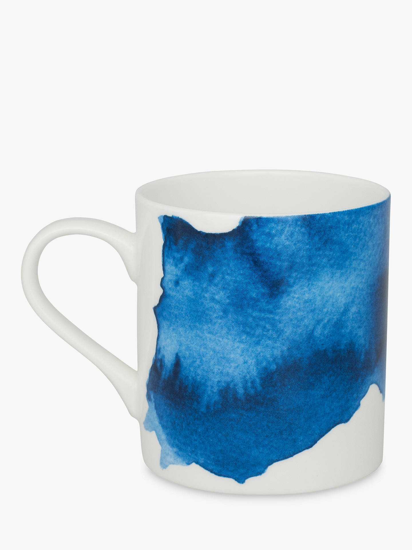 Buy Rick Stein Coves of Cornwall Treyarnon Bay Mug, Blue/White, 300ml Online at johnlewis.com