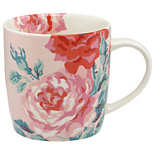 Buy Cath Kidston Antique Rose Mug in Gift Box, Dusty Pink, 475ml Online at johnlewis.com