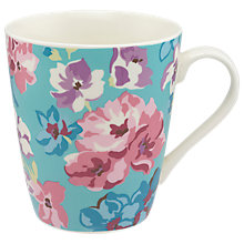 Buy Cath Kidston Woodstock Flowers Stanley Mug, Multi, 475ml Online at johnlewis.com