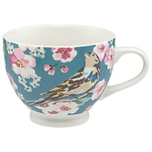 Buy Cath Kidston Meadowfield Birds Tea Cup, Multi, 475ml Online at johnlewis.com
