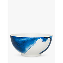 Buy Rick Stein Coves of Cornwall Trevone Bay Salad Bowl, Blue/White, Dia.21cm Online at johnlewis.com