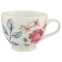 Buy Cath Kidston Pressed Flowers Tea Cup, Multi, 475ml Online at johnlewis.com