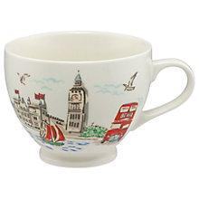 Buy Cath Kidston London Tea Cup, Multi, 475ml Online at johnlewis.com