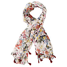 Buy Oasis Ava Floral Print Scarf, Multi Online at johnlewis.com