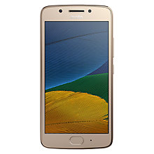 "Buy Moto G5 Smartphone, Android, 5"", 4G LTE, SIM Free, 16GB Online at johnlewis.com"